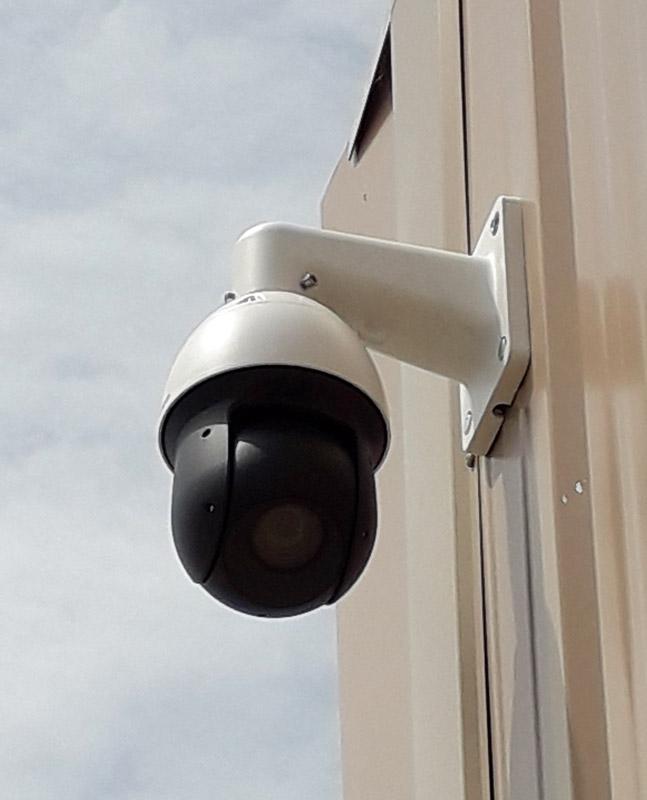 Vidéosurveillance par caméra